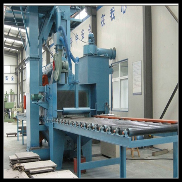 Roller Conveyor Blasting Equipment Steel Cleaning Shot Blast Machine