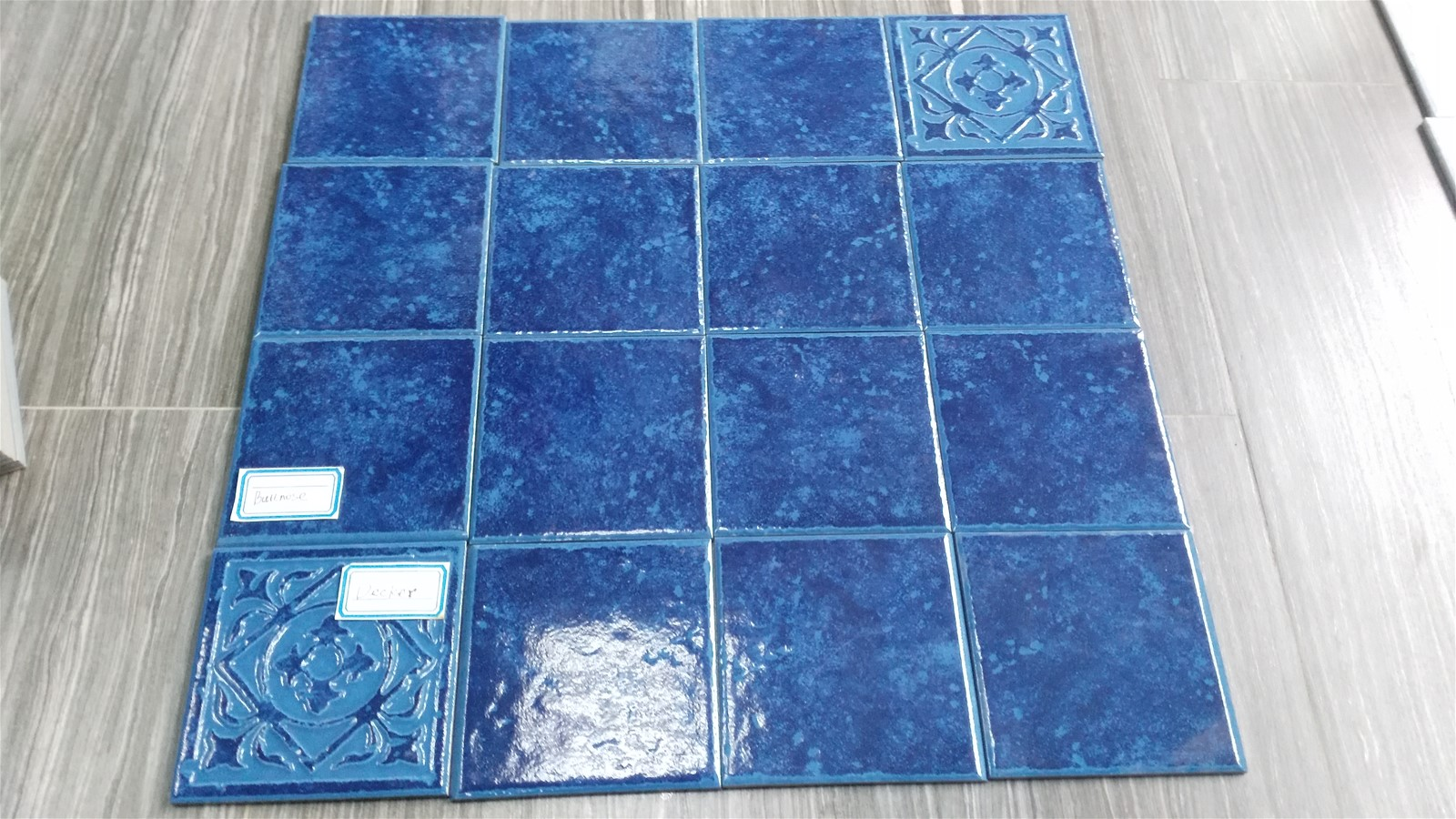 Swimming Pool Porcelain Tile - 6x6