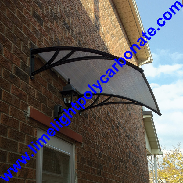 Door Shelter Polycarbonate Diy Awning Window Awning Diy