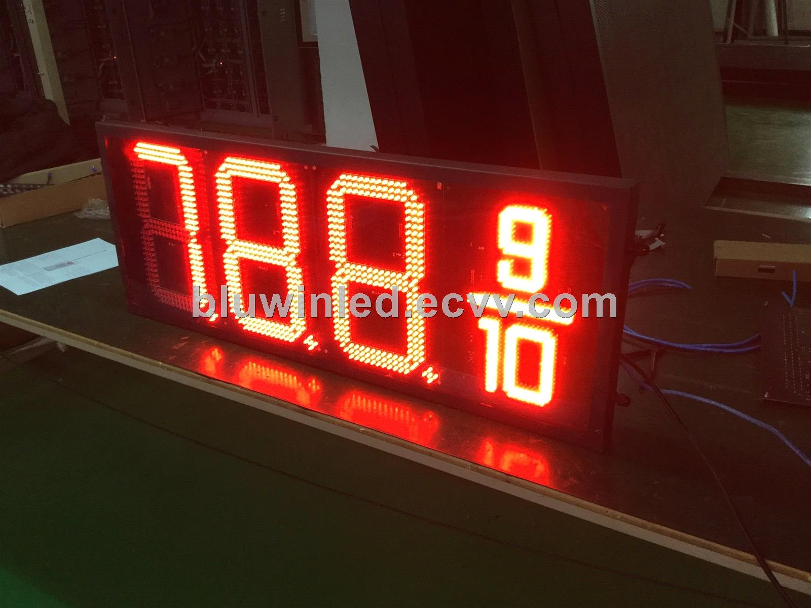 16inch 8 88/910 led digital price display /Led gas station sign/LED gas  price sign