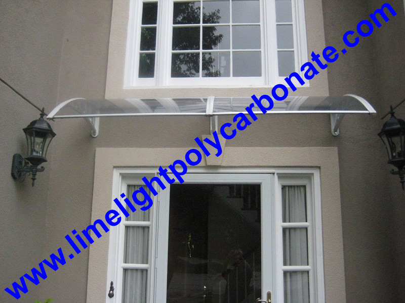 Pc Awning DIY Awning Window Awning Polycarbonate Awning Door Canopy Door  Shelter Door Roof Canopy