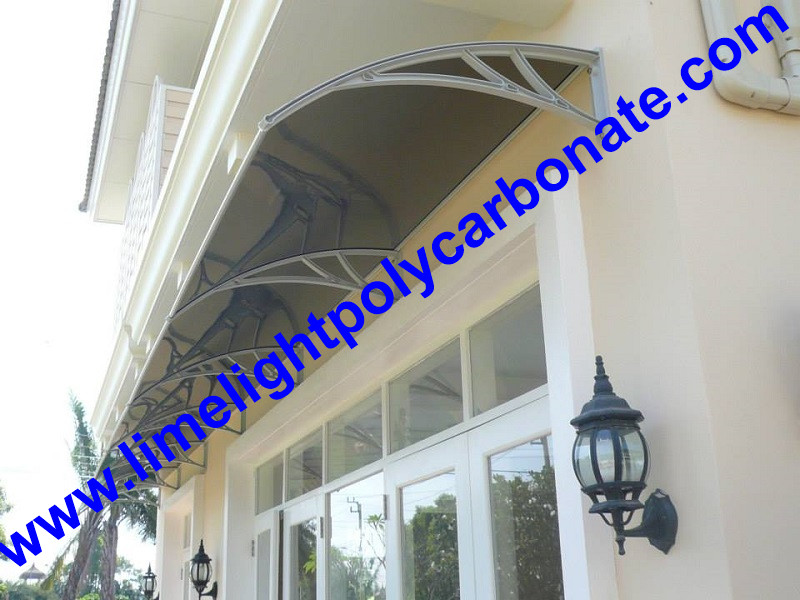 Window Awning door canopy PC awning DIY awning polycarbonate awning DIY  canopy polycarbonate canopy