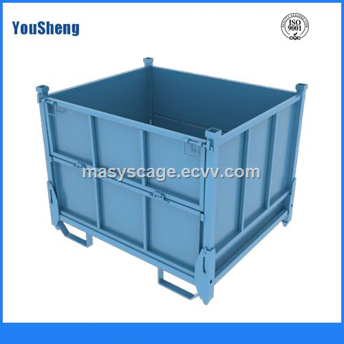 Steel Crate Stackable Steel Storage Bins