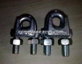 Forged carbon steel D and bow shackle, rigging shackle