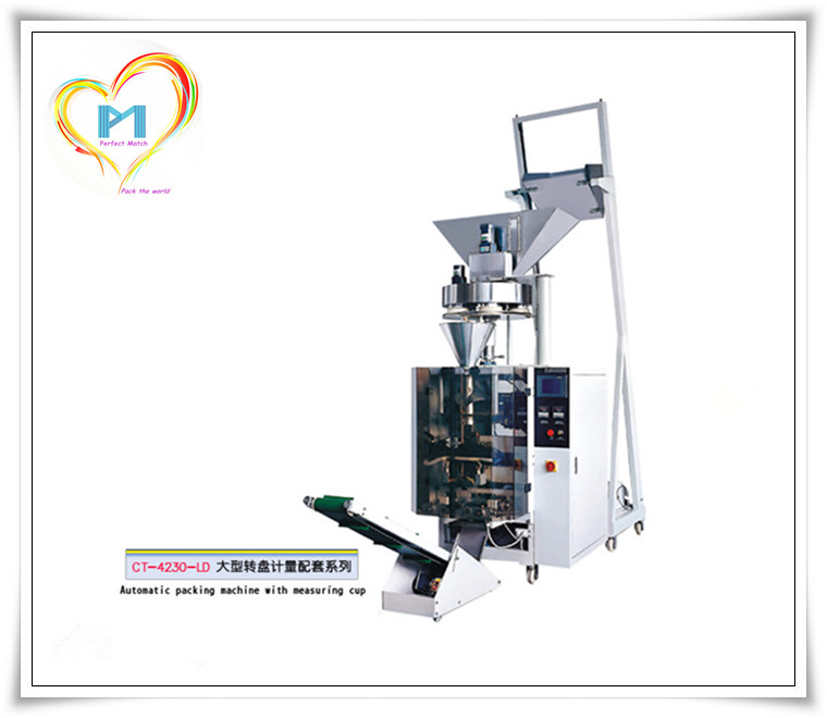 CT-4230-LD Vertical automatic granule packing machine for rice popcorn nut peanut dried fruit