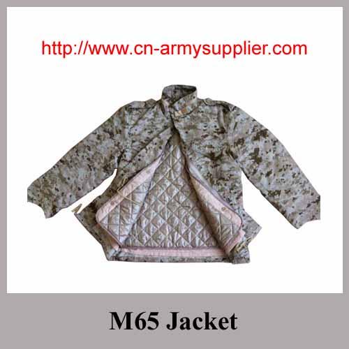 ba298794ac634 Wholesale Cheap China Field Camouflage Combat M65 Jacket from China ...