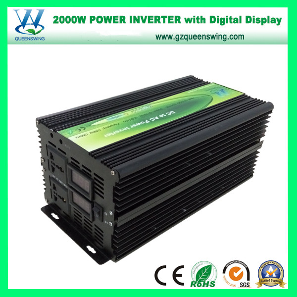 2000W Modified Sine Wave Power Inverter with Digital Display (QW-M2000)