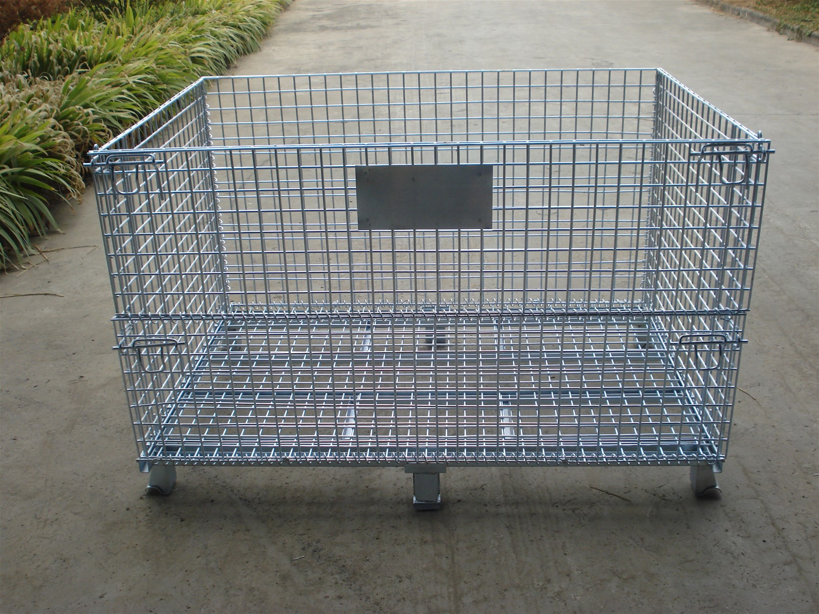 Heavy duty steel wire collapsible basket purchasing