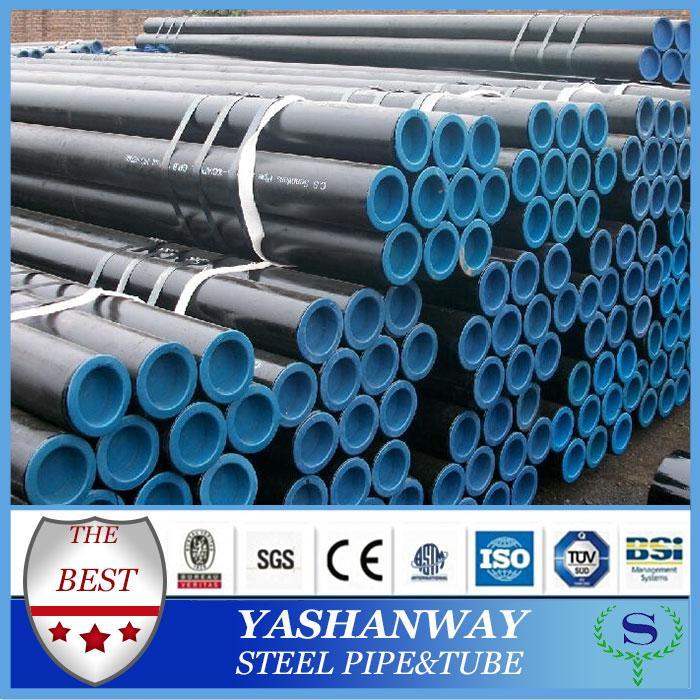 YSW asme b36 10 57mm sch 40 carbon steel seamless pipe api 5l gr b