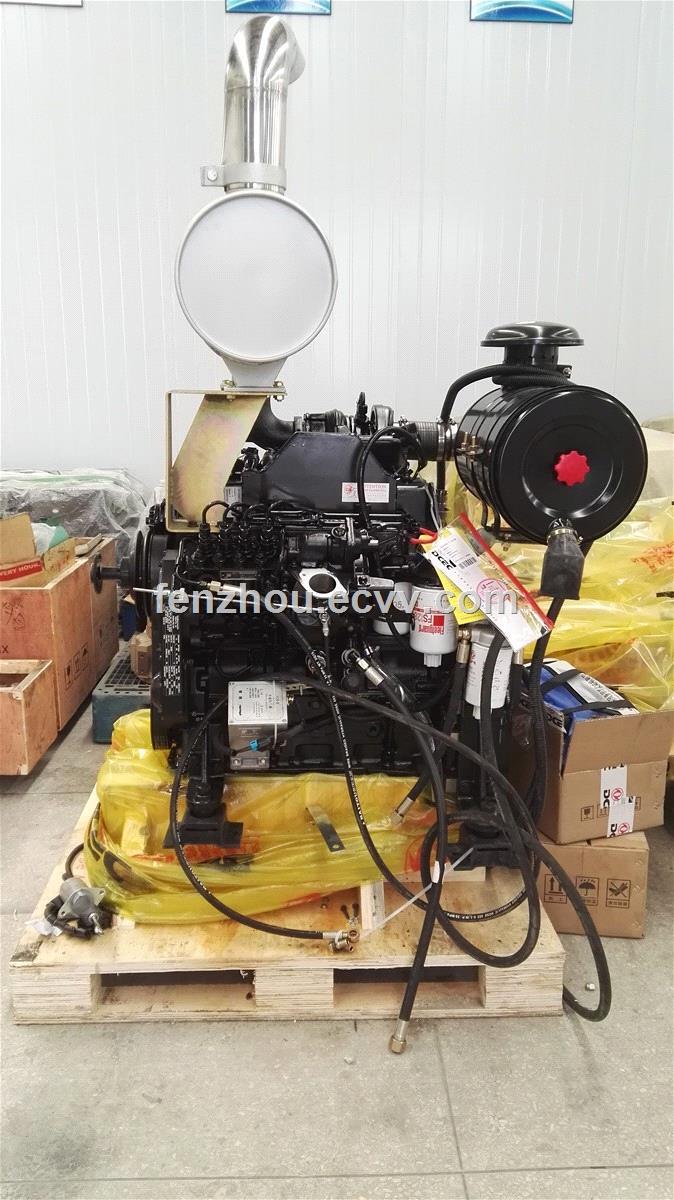 KOMATSU crane diesel engine Cummins 4BTA3 9-C125 from China