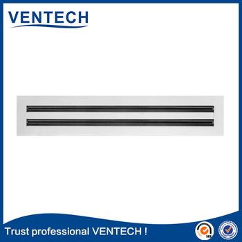 Aluminium Supply Air Slot Diffuser, Air Conditioning Diffuser