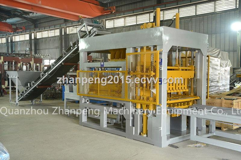 QT8-15 Fully Automatic (Double Bins) Block Making Machine