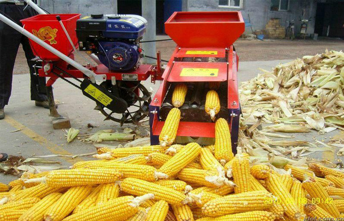 Hot sale! maize peeling machine/corn sheller machine/maize flour milling machine