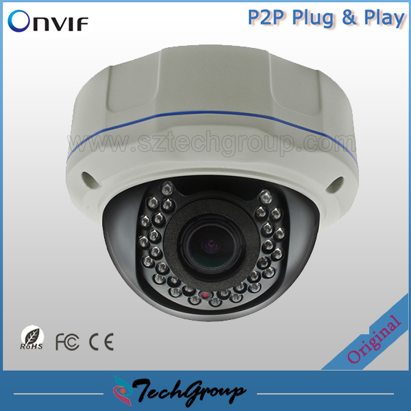 P2P 2MP/1.3MP/1MP IP Camera Waterproof ONVIF Network Camera