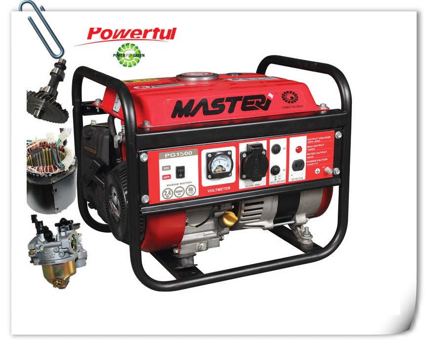 Single-Phase 1000W Gasoline Generator Set/2.6HPAir-Cooled, 4 Stroke, Ohv Gasoline Generator