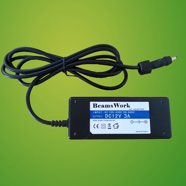DC12V 3A LED Power Supply / AC TO DC Adapter