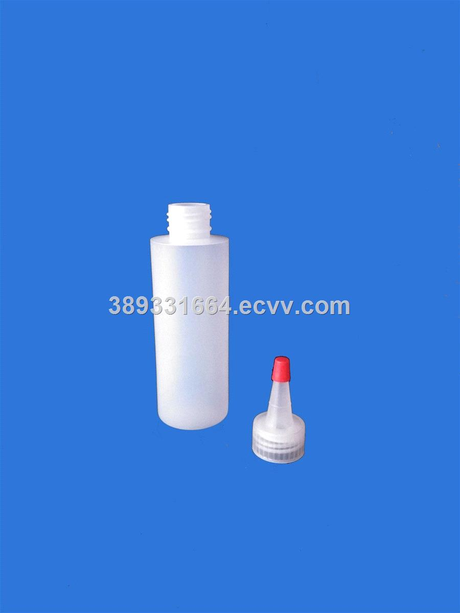 plastic bottles 120ml-sharp mouth cap