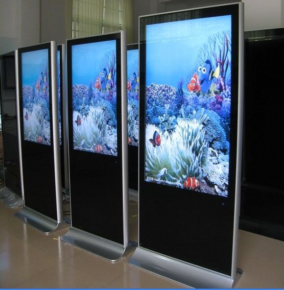 led display 42 inch indoor Floor Stand Touch Screen  advertising Displays