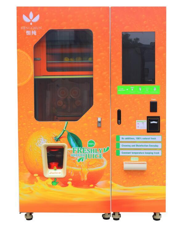 2016 Hot Sale Fresh Squeezed Orange Juice Vending Machine Price From
