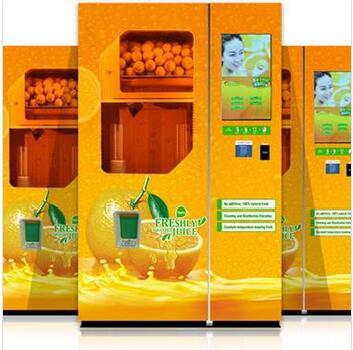Orange Juice Vending Machine Manufacturer Purchasing Souring Agent