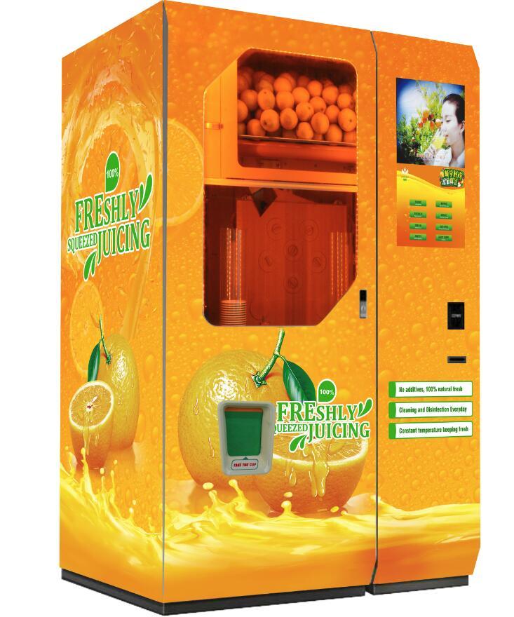 Fresh Orange Juice Vending Machine Price From China Manufacturer