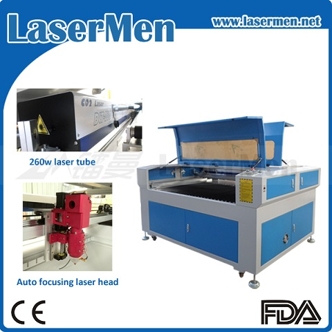 260W CNC Laser Cutter for 2mm Stainless Steel / Metal and Non-Metal Laser Cutting Machine LM-1390