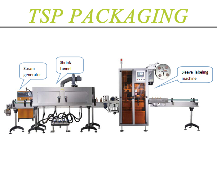 SLM series automatic shrink sleeve label machine labeling system