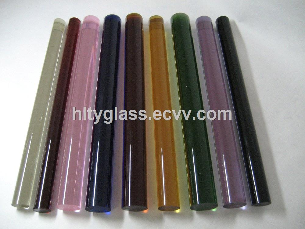 Color Borosilicate Glass Rod