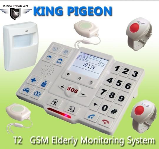 GSM Medical alarm Elderly Guarder PC programme --- King Pigeon T2