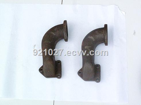 S195 1125 S1110 INTAKE &EXHAUST PIPE