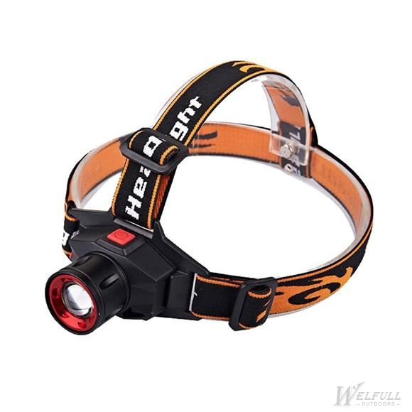 Cree Q5 350 Lumens LED Bulb Zoomable Headlamp