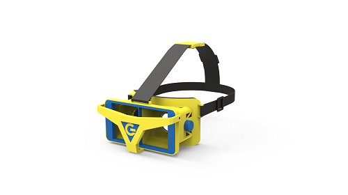 Original vr 3d glasses plastic Headset for vr 3d experience