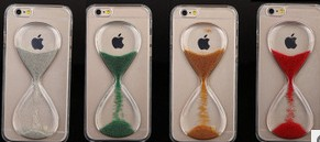 Falling Hourglass Liquid Case for Phone