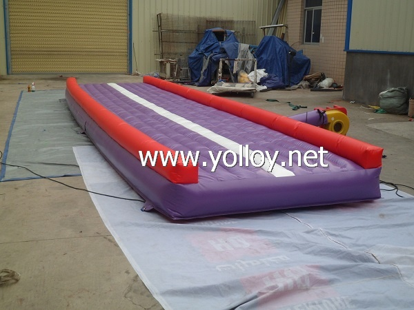 Inflatable running track,air track for runner