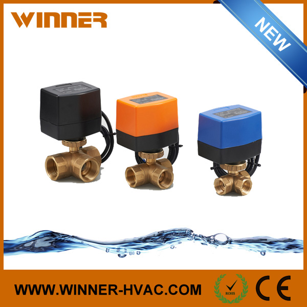 Water Flow Control Electric Valve with Actuator from China