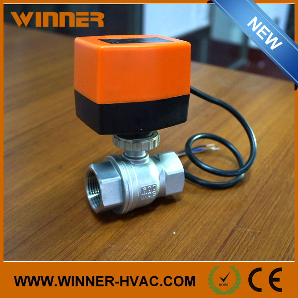 Hot Sale Stainless Steel Water Control Electric Valve