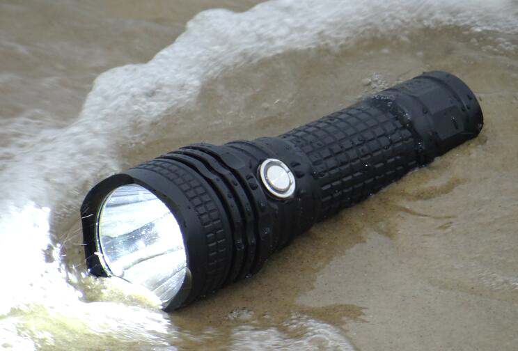 USB Rechargeable LED Torchlight 26650 Powerful Battery Rechargeable LED Flashlight