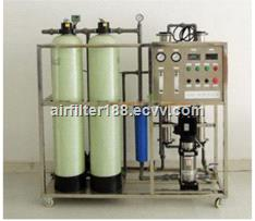 FRP water softener system