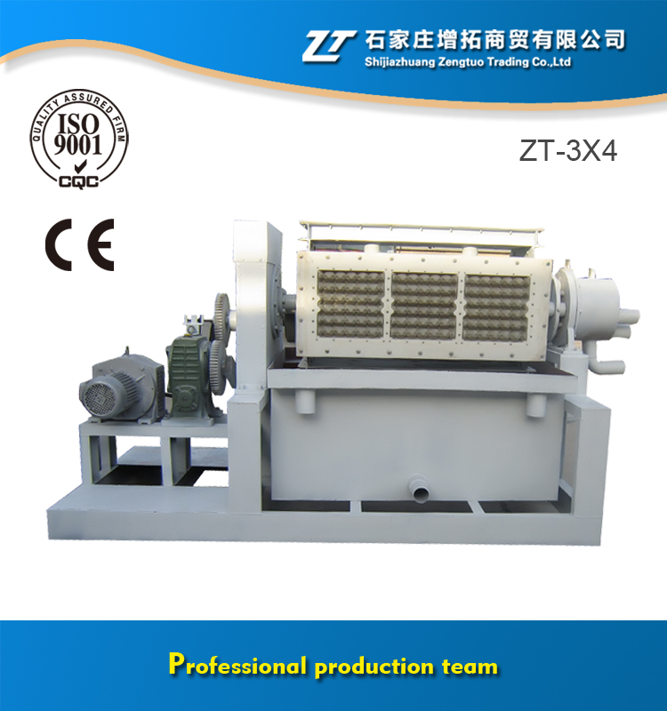 Cheap Price Offer 2000 pcs/h Capacity Paper Pulp Egg Tray Making Machine
