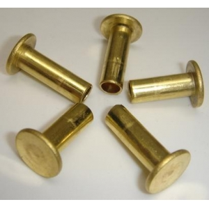 brass round head rivet
