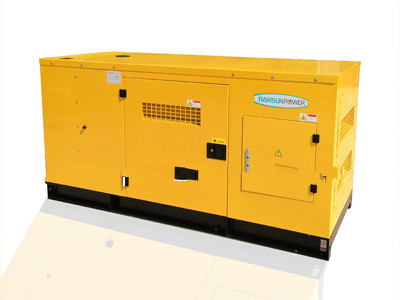 200KVA water cooled low noise diesel generators with AC alternator