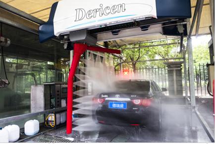 touchless car wash machine / automatic car wash equipment