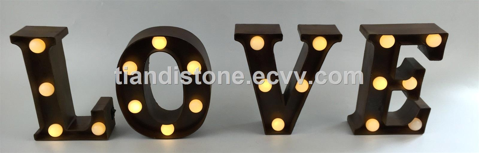 New Arrival: Letter with LED Lighting