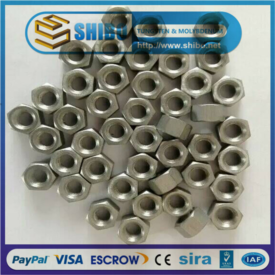 Molybdenum Screws, Moly Nuts, Mo Bolts