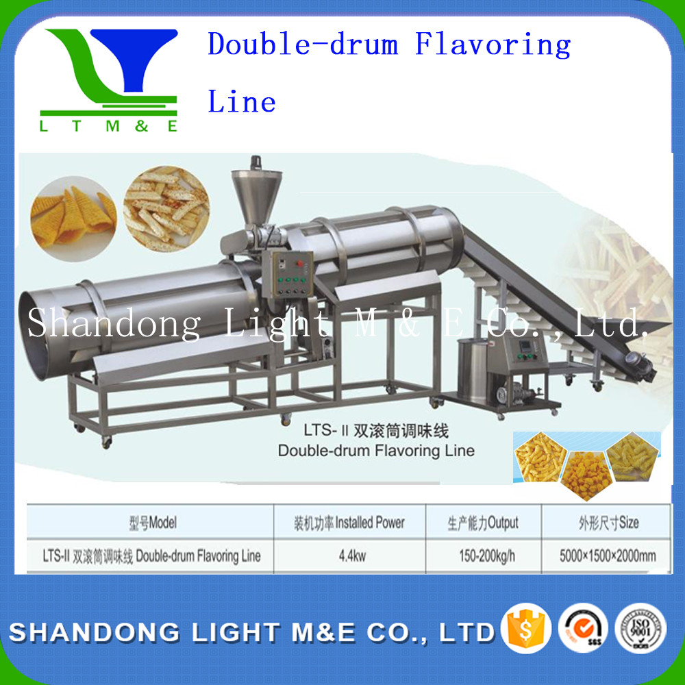 Double -drum Flavoring Line