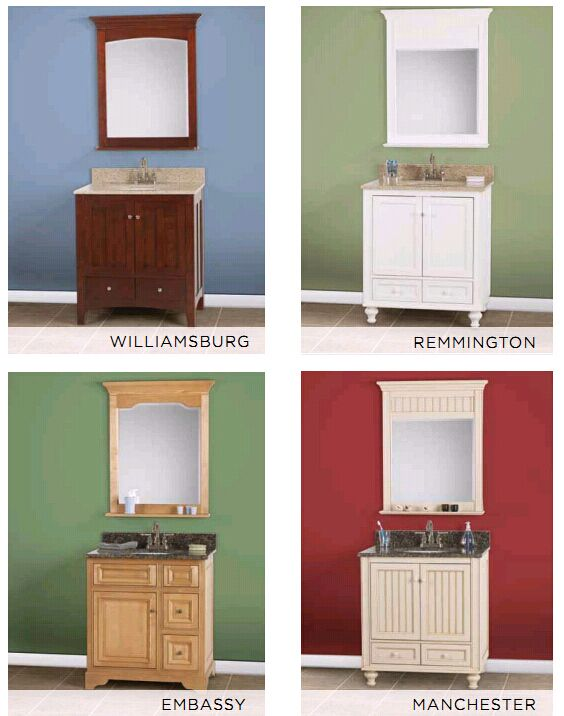 Inset Doors Bath Cabinets Solid Wood
