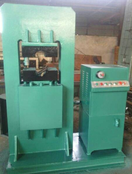 Steel wire rope crimping pressing machine