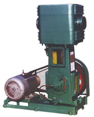 WLW-A Oil Free Vertical Vacuum Pump
