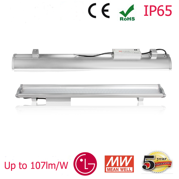 High Lumen Efficiency Different Beam Angle Linear LED High Bay Tube Lighting
