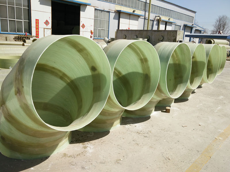 GRP Pipe Presure Fittings Such as Flanges, Coupling, Elbows